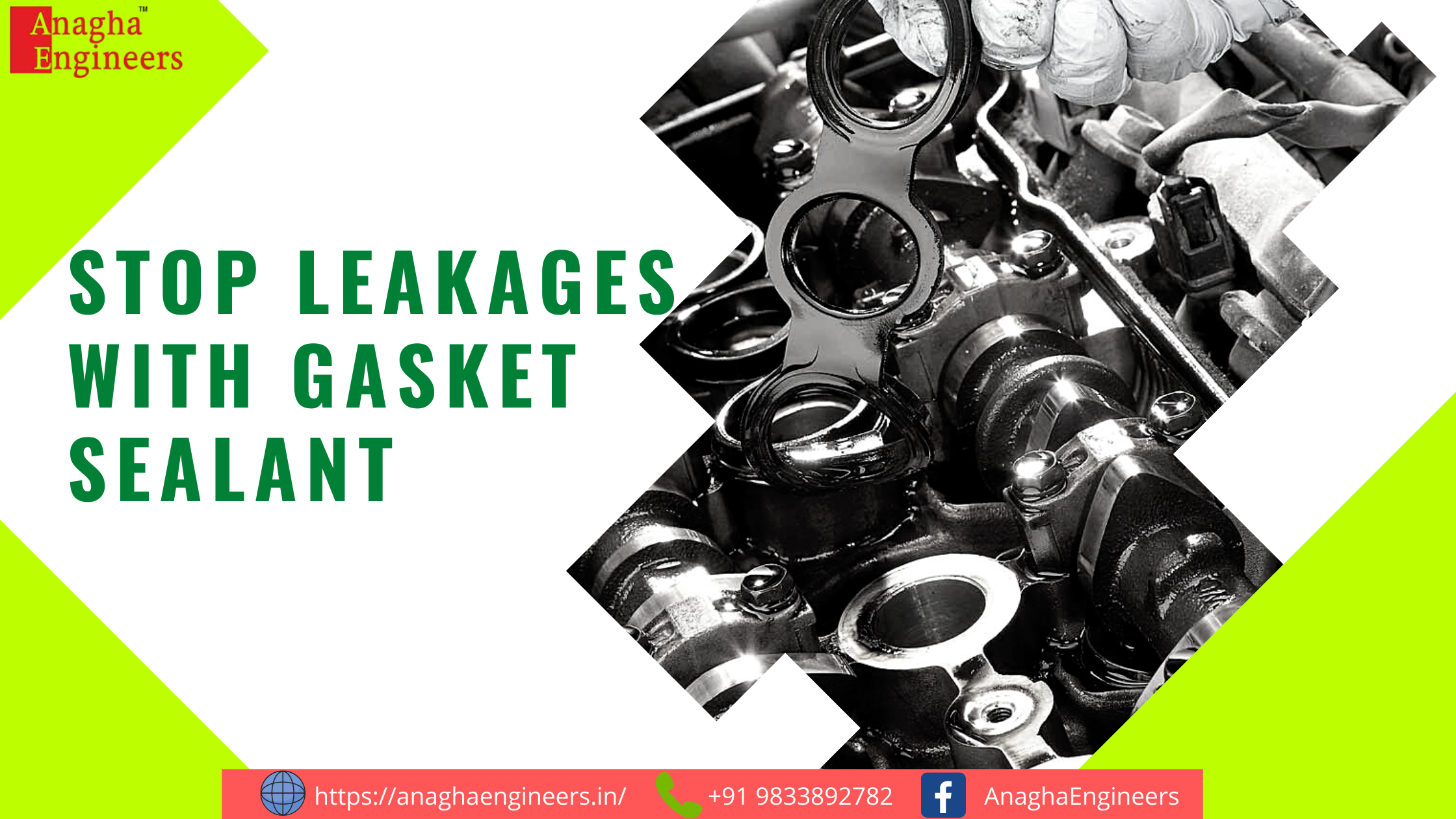 Replace Solid gasket with Liquid Flange sealant