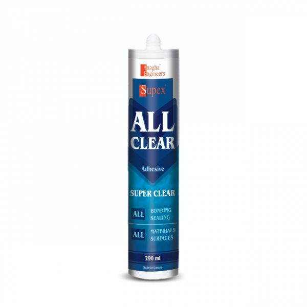 crystal clear adhesive
