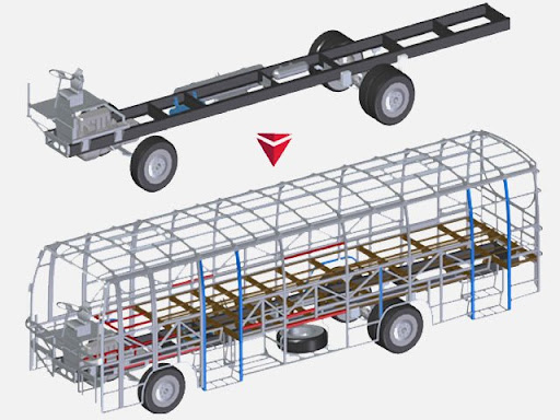 How to reduce weight and noise at bus body manufacturing stage